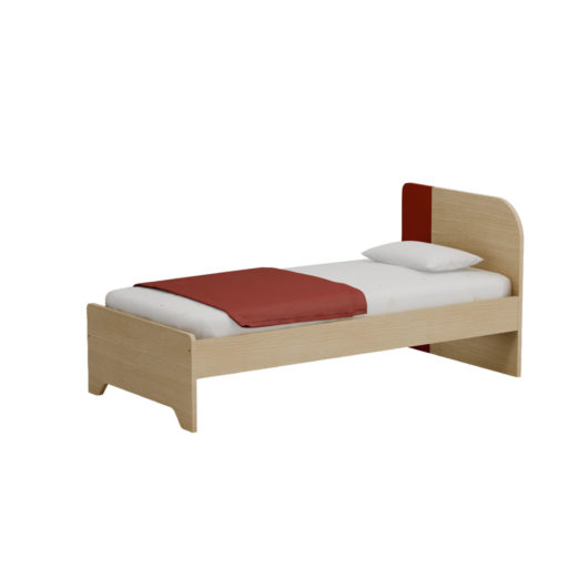 DUOMO BED RED
