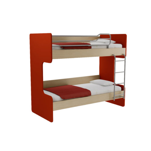 OBIN BED RED