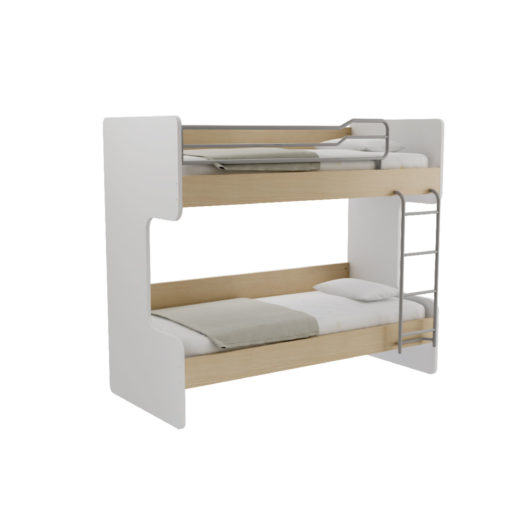 OBIN BED WHITE